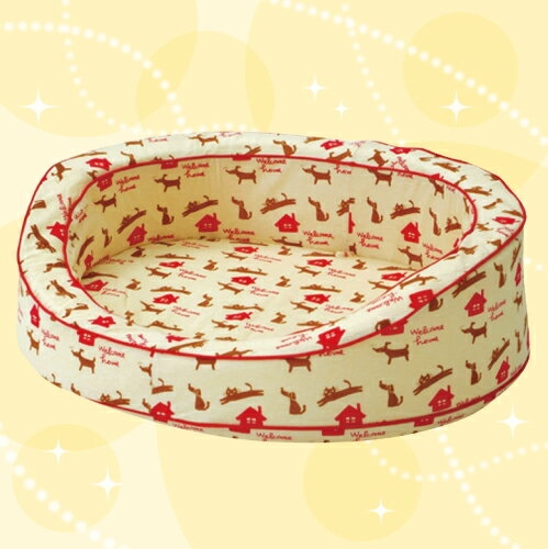 お待たせしました!数量限定で再入荷♪NEW Washable BED (ニューウォッシャブルベッド) 専用カバー M ウェルカムホーム 犬 猫 洗える ペットベッド