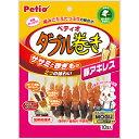 Petio(ペティオ) ササミ+チキンガムMOGU ダブル巻き 豚アキレス 10本入 犬用おやつ