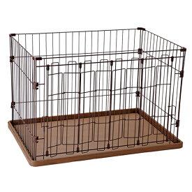 ペティオ フルオープンサークル ゲージ ケージ 犬用 サークル 室内 金属 犬 左右どちらからでも大きく開く 短毛犬 長毛犬 Petio