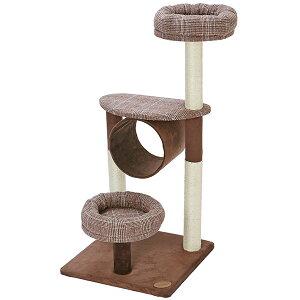 アドメイト 猫のおあそびポールチェック ミドルタイプ 爪とぎ付 おもちゃ キャットタワー 猫 ネコ 設置場所を選ばないコンパクトサイズ 登ったり くつろいだり 愛猫にとってお気に入りの