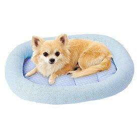 ペティオ ひんやりあごのせベッドT S 接触冷感 犬猫用 冷感生地を使用した ひんやりあごのせベッド! 超小型犬 小型犬・全猫種 Petio