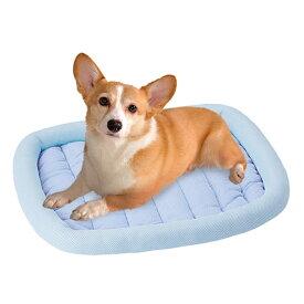 ペティオ ひんやりあごのせベッドT L 接触冷感 イヌ ネコ 両用 ポリエステル レーヨン ナイロン 中生地:ポリプロピレン ポリエステル ポリプロピレン 塩化ビニル樹脂 冷感生地を使用したひんやりあごのせベッド! 超小型犬 小型犬 中型犬 猫 Petio