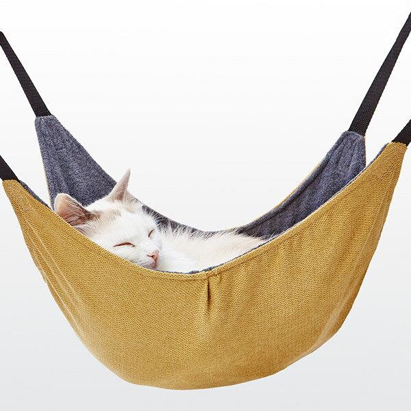 アドメイト 包まれにゃんモック イエロー ハンモック 本体 全猫種 ねこ ネコ 〜8kg Add.Mate