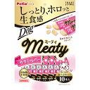 ペティオ Meaty ミーティ ササミ&レバー 10本入 鶏 チキン ささみ レトルト 犬用おやつ 添加物不使用 肝 全犬種 Petio