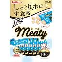 ペティオ Meaty ミーティ ササミ&タラ 10本入 鶏 チキン ササミ レトルト 犬用おやつ 添加物不使用 鱈 全犬種 Petio