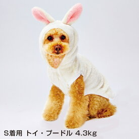 ペティオ 変身パーカー 犬用服 ウェア ウサギ XS オールステージ 超小型犬〜小型犬 チワワ ヨークシャー・テリア等 短毛犬・長毛犬 Petio