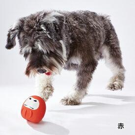 アドメイト 開運だるまラテックス 赤 家内安全・必勝 犬用おもちゃ 玩具 超小型犬〜小型犬 Add.mate