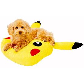 ポケモン Pokemon ポケットモンスター ピカチュウクッション 超小型犬 小型犬 猫 短毛 長毛 ポリエステル ペティオ Petio
