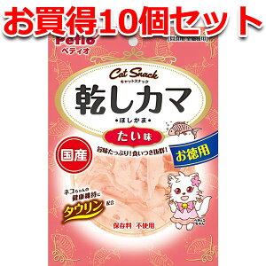 10個セット1個分無料|ペティオ キャットSNACK 乾しカマ たい味 45g かまぼこ 海産物 魚 猫用おやつ キャットフード 国産 日本製 キャットスナック タラ すり身 猫 ネコ タウリン カマボコにたい