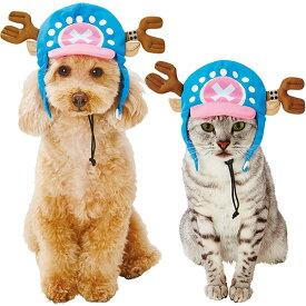 ペティオ ワンピース ONE PIECE なりきりキャップ チョッパー 超小型犬〜小型犬 猫帽子 短毛 長毛 イヌ ネコ アパレル キャラペティ Petio