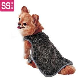 ペティオ 犬用ウェア Porta ポルタ 楽に着せられるあったかブランケット SS 冬服 超小型犬 短毛 長毛 Petio