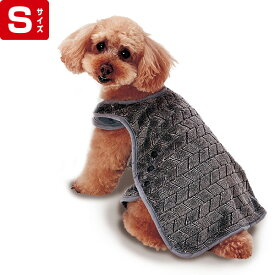 ペティオ 犬用ウェア Porta ポルタ 楽に着せられるあったかブランケット S 冬服 小型犬 短毛 長毛 Petio