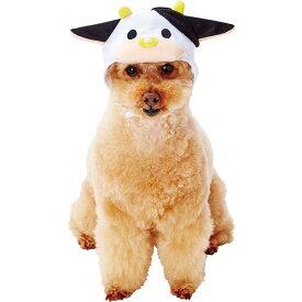 ペティオ 犬用コスプレ 変身ほっかむり うし うしおくん M 全年齢 超小型犬〜小型犬 短毛 長毛 ウェア Petio