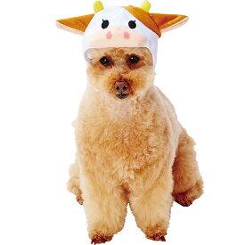 ペティオ 犬用コスプレ 変身ほっかむり うし もーこちゃん M 全年齢 超小型犬 小型犬 犬服 短毛 長毛 ウェア Petio