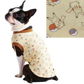 ポケットモンスター ポケモン Pokemon E-Stretch スキンTシャツ クリーム S 超小型犬〜小型犬 短毛 長毛 ウェア ペティオ Petio