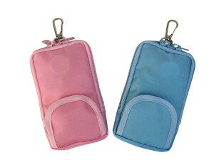 ピンク 水色 ★無地★ ランドセルポーチ ランドセル対応 オールインワン キッズ携帯 ケース カバー キーケース 定期入れ docomo SH-03M mamorino4・5 キッズフォン701ZT・2 対応