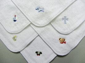 名入れします ★選べる刺繍★ ミニタオル ハンカチ 日本製 入園入学 ギフトにも