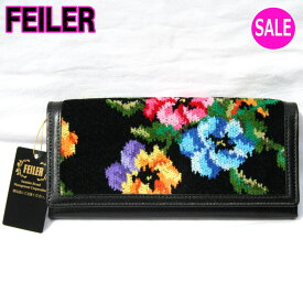 フェイラー長財布 FEILER【正規品】 フェイラーパンジー 長財布172012(レターパックライト不可)