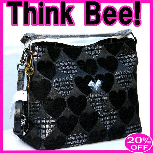 シンクビーバッグ シンクビー【グッドナイト】グッドナイト 2ウェイショルダーバッグ(ブラック) Think Bee! (シンクビー!)