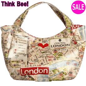 シンクビーバッグSALE【シンクビーバッグ】【Think Bee!】シンクビー バッグThink Bee! ロンドンマップ シンクビーバッグ (シンクビー!)