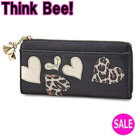 シンクビー財布 レオハーツドリームス L型 長財布Think Bee!(シンクビー!)A001721