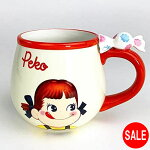 ペコちゃんミルキーフィギュア付きマグマグカップ食器クリームsan3546