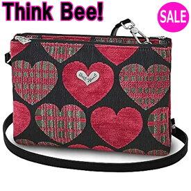 シンクビーバッグ Think Bee!(シンクビー!)ポシェット グッドナイト (レッド) A002317