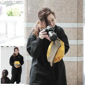 カメララップ レンズを付けたまま一眼レフを収納&持ち運び カメラバッグ cab 【ネコポス不可】