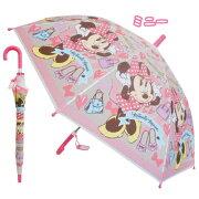 【NEW】【T2】【ミニー】ジャンプ傘3キッズ50cm【DISNEY/MINNIE】【1805】【700-800-1000】