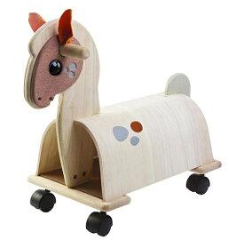 乗用ポニー プラントイ Plantoys 3473 木おもちゃ 1歳以上 12mon ベビー キッズ 子供 乗用玩具