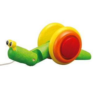 スネイル でんでんむし かたつむり プラントイ Plantoys 木おもちゃ 1歳以上 12mon ベビー キッズ 子供 知育玩具