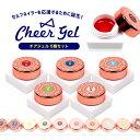 メール便送料無料 チアジェル カラージェル5個セット | cheergel cheer gel ジェル ジェルネイル ネイル セルフネイル…
