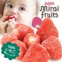 【安心のメーカー直販】フリーズドライフルーツ mirai fruits ミライフルーツ 未来果実 いちご 10g 無添加 砂糖不使用…