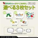 【安心のメーカー直販】Bitatto ビタット はらぺこあおむし レギュラー(通常)サイズ2枚+ミニサイズ1枚 選べる3枚セット ウェットシート…