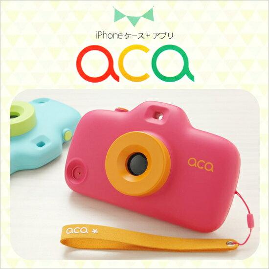 【安心のメーカー直販】aca iPhone SE iPhone5s/5 ケース トイカメラ型 アイフォン