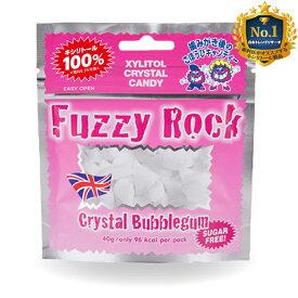 【キシリトール 100%】 キャンディー タブレット FuzzyRock ファジーロック バブルガム味 あめ アメ こども 虫歯 甘い 爽快感 歯磨き ノンシュガー 糖類オフ 歯 矯正 防災
