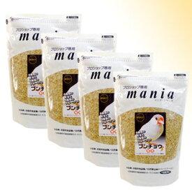 [お買い得セット]mania(マニア) ブンチョウ 3L(約2kg) ×4個セット 6種の野菜と3種のフルーツ入り〔黒瀬ペットフード〕【送料無料[一部地域を除く]】[P2]