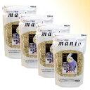 [お買い得セット]mania(マニア) 中型インコ 3L(約2.1kg) ×4個セット 6種の野菜と3種のフルーツ入り〔黒瀬ペット…