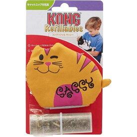 【在庫処分】Kong(コング) 猫用おもちゃ リフィル サッシー(キャットニップ付)