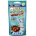 キャティーマン 猫の毛玉ケアスナック まぐろ味 35g ドギーマン