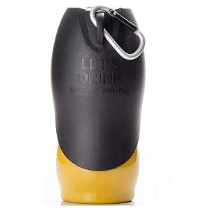 【在庫限り】ループ ペット用水筒 ステンレスボトル M サイズ 500ml イエロー