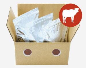 【無添加・国産】ドットわんごはん-Red mind- お得用パック3kg(1kg袋×3袋)