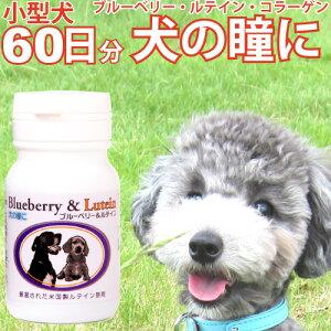 犬の瞳に ブルーベリー & ルテイン 60粒 犬用 国産 サプリメント