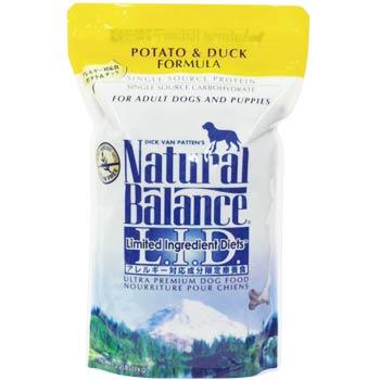ナチュラルバランス ウルトラプレミアム ポテト&ダック フォーミュラ 2.2ポンド(1kg) 【RCP】