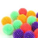 ファジーボールキャニスター【おもちゃ】【小さめ】 フェレット 玩具 ペット用おもちゃ オモチャ ボール ビニール