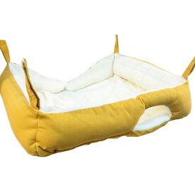 グーグー・ベッド 食パン(F2)フェレット ハンモック コットン 夏用 春用 秋用 もぐれる ベッド型 オールシーズン