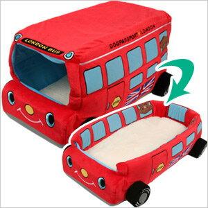 2WAYカドラー イングランドバス 犬 ドッグ フェレット 猫 ベッド クッション マット カドラー 小型犬