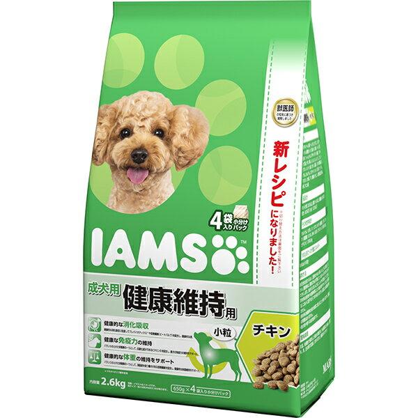 アイムス ドッグ 成犬用 健康維持用 チキン 小粒 2.6kg【iamsd81609】〔18030523dd,s03_dd〕