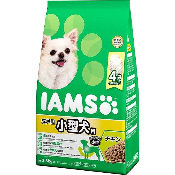 アイムス ドッグ 成犬用 小型犬用 チキン 小粒 2.3kg【iamsd101609】〔18030523dd,s03_dd〕