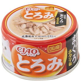 いなば チャオ とろみ ささみ・まぐろ ホタテ味 80g×24缶〔20110835cw〕